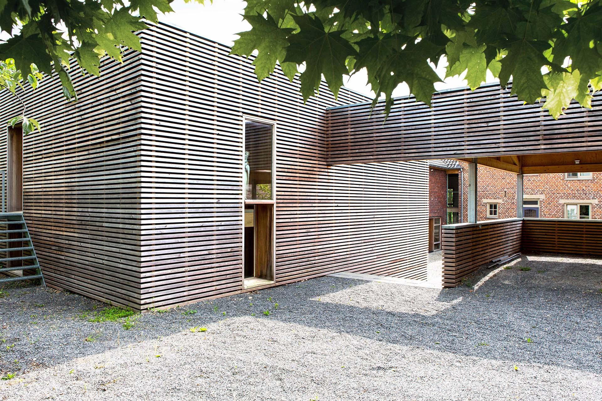 hout houtbouw nieuwbouw duurzaam lariks iroko houtkozijn groen transformatie