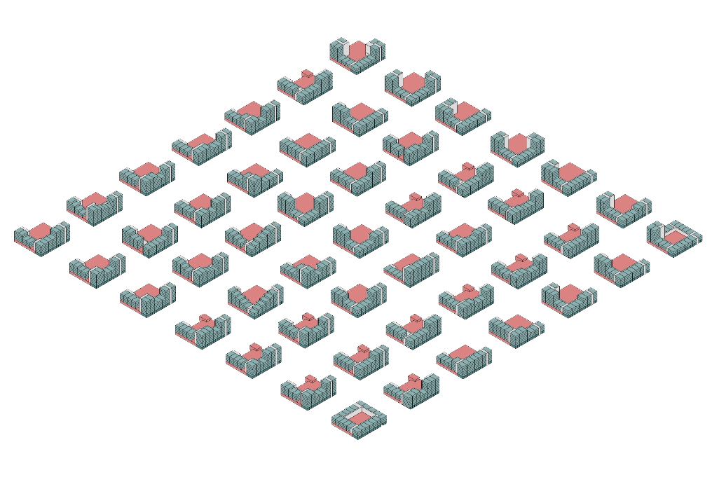 architect zoetmulder westerschans goes zeeland rws sociale huur woning huis bouwen kanaal diagram water geel baksteen patroon geel brug
